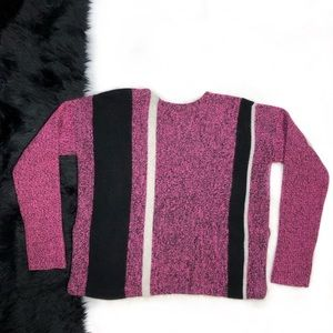 Alexander Wang Sweaters - T by Alexander Wang Boiled Tweed Striped Sweater